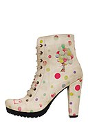 DOGO - Ankle-Boots Take Me To Neverland, gefüttert