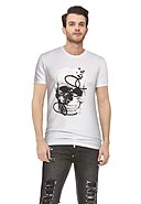 PHILIPP PLEIN - T-Shirt, Rundhals, Regular Fit