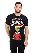 CHRISTMAS COLLECTION - T-Shirt Don'T Be A Grinch, Rundhals