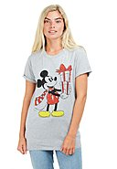 CHRISTMAS COLLECTION - T-Shirt Mickey Christmas, Rundhals