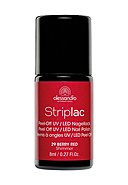 ALESSANDRO - Nagellack Striplac, 8 ml, berry red