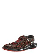 KEEN FOOTWEAR - Sandale Uneek Stripes, braun/rot