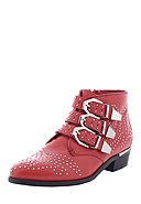 BRONX - Ankle Boot, rot