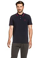 ROY ROBSON - Polo-Shirt, Rundhals, Shape Fit