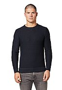 TOM TAILOR CASUAL - Pullover, Rundhals, Regular Fit