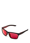 BRIKO - Multisportbrille TYPHOON MIRROR COLOR, schwarz/rot