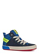 GEOX - Hightop Sneaker Alonisso, navy/gelb