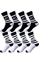 ALL BLACKS - Socken, 4er-Pack, weiß/schwarz