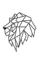 REALLY NICE THINGS - Wandsticker Lion, B40 x H70 x T5 cm
