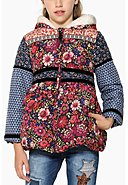 DESIGUAL - Jacke, Kapuze, Regular Fit