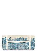 REALLY NICE THINGS - Picknickdecke Blue Leaves, L170 x B140 cm