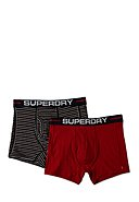 SUPERDRY - Boxer-Briefs, 2er-Pack