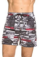 NATURANA - Bade-Shorts, grau