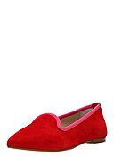 GORDON & BROS - Slipper, Leder, rot