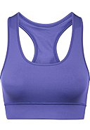 HEY HONEY - Sport-Bustier, wattiert, Purple