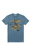 PURE JUICE - T-Shirt Surf Two Tone, Rundhals