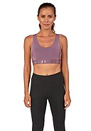 UNDER ARMOUR - Sport-Bustier Favorite, Fitted Fit, mauve