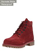 TIMBERLAND - Boots 6In Premium, Gr. 36-39, Leder, rot