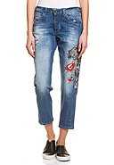 GUESS - Stretch-Jeans Vanille, Relaxed Low Fit