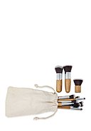 ZOE AYLA - Make-Up-Pinsel-Set Bamboo, 11-teilig