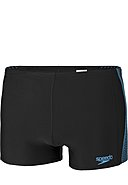 SPEEDO - Bade-Briefs, schwarz/blau