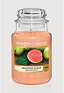 YANKEE CANDLE - Duftkerze Delicious Guava, 623 g [36,87€*/1kg]