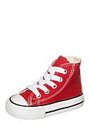 CONVERSE - Hightop-Sneaker All Star, rot/weiß