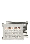 REALLY NICE THINGS - Zierkissenbezug In This House, B35 x L50 cm