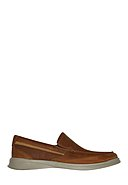 CLARKS - Slipper Cotrell Easy, Leder