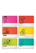 COLOR ADDICTED - Platzset Peanuts, 6er-Pack, B43 x L28,5 cm