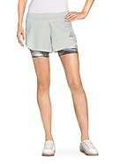 REEBOK - Funktions-Shorts, 2-in-1