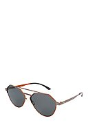 ADIDAS SUN - Sonnenbrille AOM009, UV 400, gunmetal/orange