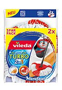 VILEDA - Ersatzkopf Easywring & Clean Turbo 2in1, 2er-Pack