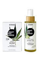 I WANT YOU NAKED - Duschseife + Body Oil Holy Hamp