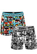 MUCHACHOMALO - Boxer-Briefs Color Television, 2er-Pack