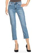 TOM TAILOR - Stretch-Jeans, 7/8-Länge, Straight Fit