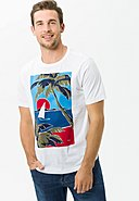 BRAX - T-Shirt Taylor, Rundhals, Casual Fit