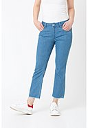CARE LABEL - Stretch-Jeans, Cropped Fit