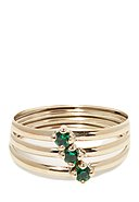 INSTANT D'OR - Ring Abbie, 375 Gelbgold, Zirkonia