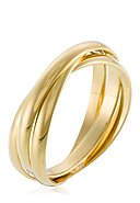 BY COLETTE - Ring Saturna, 375 Gelbgold