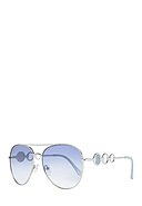 GUESS BY MARCIANO - Sonnenbrille GF6114, UV 400, silbern
